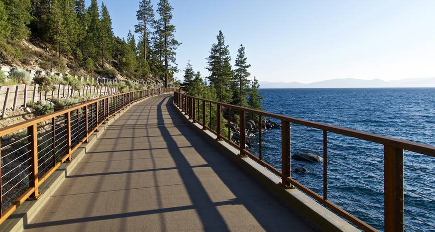 Just completed East Shore trail captures majesty of Lake Tahoe