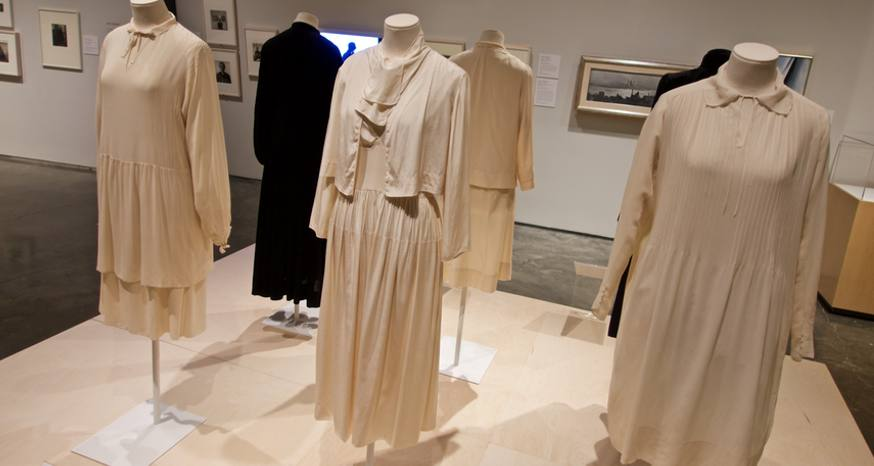 O'Keeffe exhibit delves into artist's life through clothing