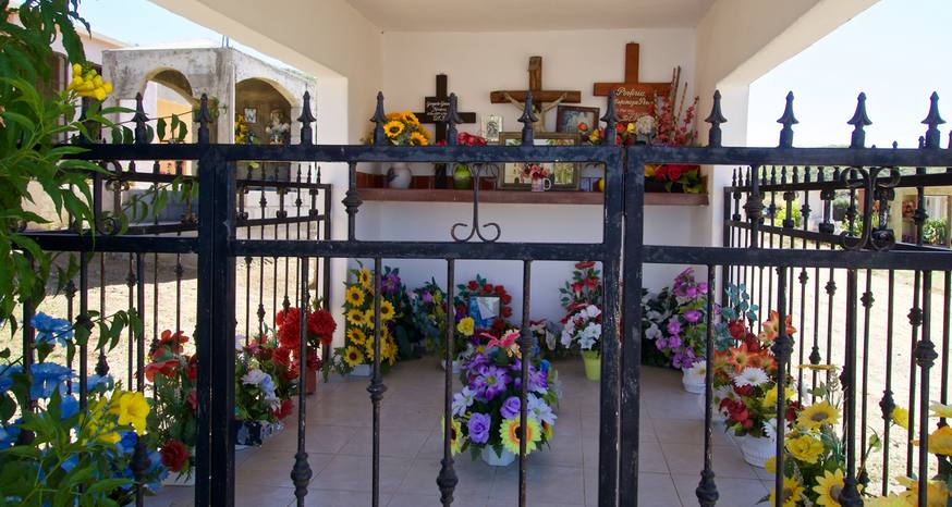 Cemeteries in Mexico more than a place to bury the dead
