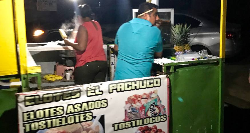 Corn snack found on streets of Mexico a decadent treat