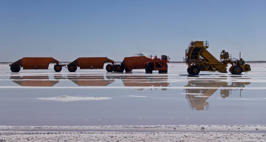 Baja home to world's largest salt operation