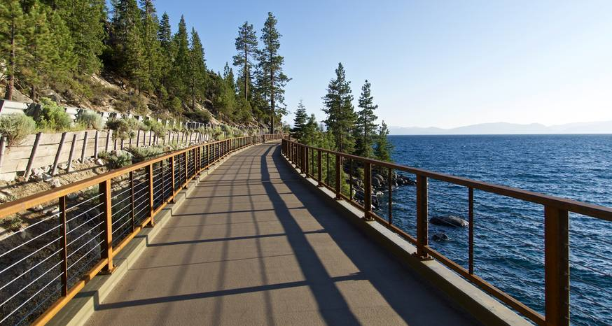 Cycling around Tahoe without cars could be reality in 25 years
