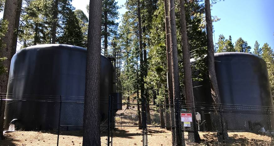 Faulty sensor sends large quantity of water flowing into forest