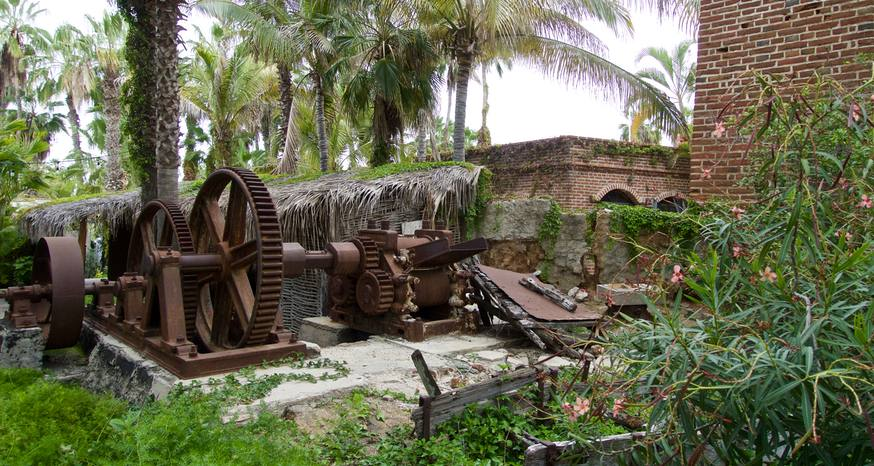 Todos Santos once a thriving sugar cane manufacturing town