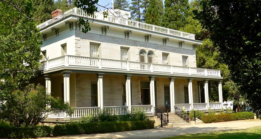 Step back in time at the Bowers Mansion in Nevada