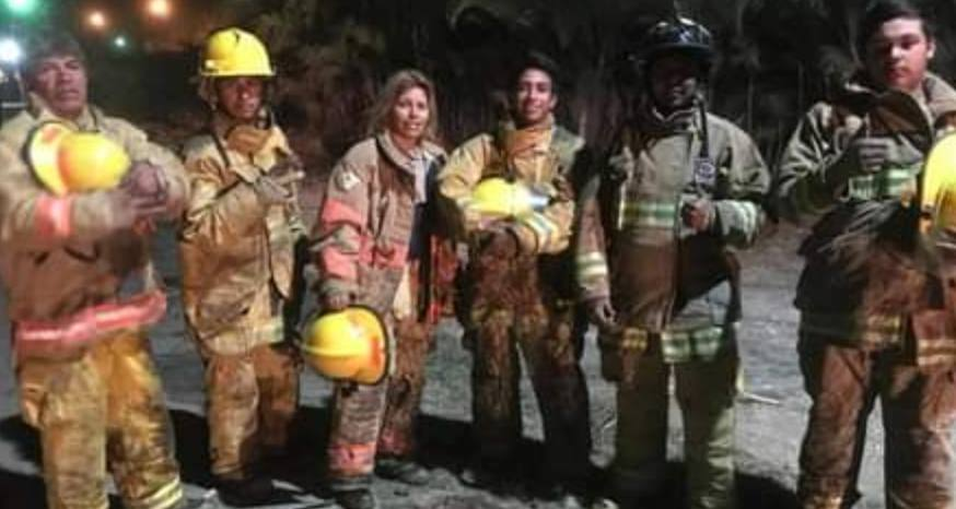 Firefighting no longer solely a man's job in Mexico