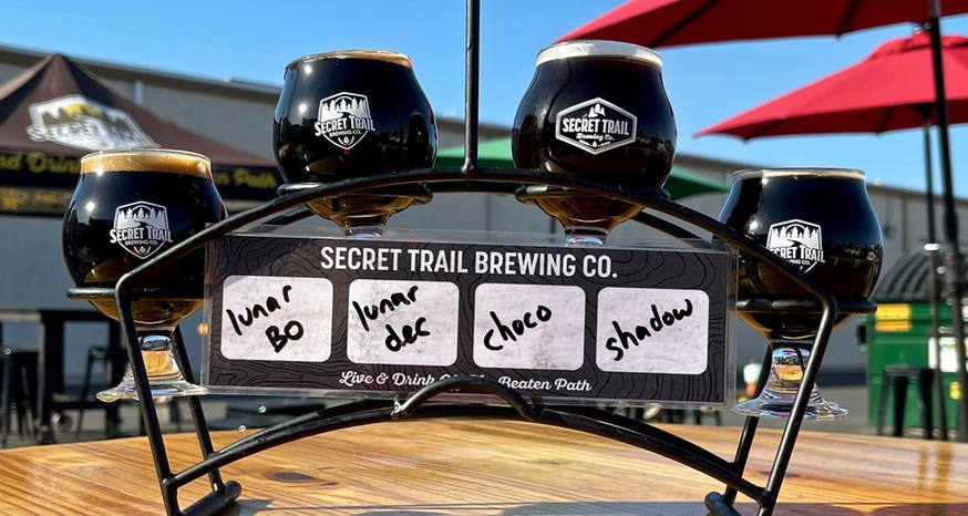 Secret Trail beer is something to shout about