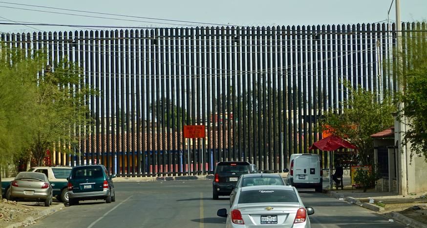 Wall between U.S.-Mexico an inhumane barrier started by Clinton