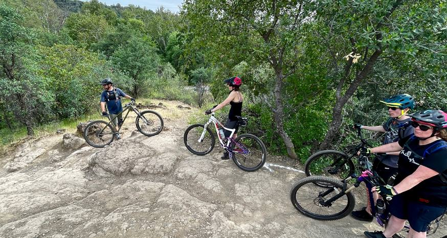 Mountain bike clinic makes it easier to ride challenging terrain