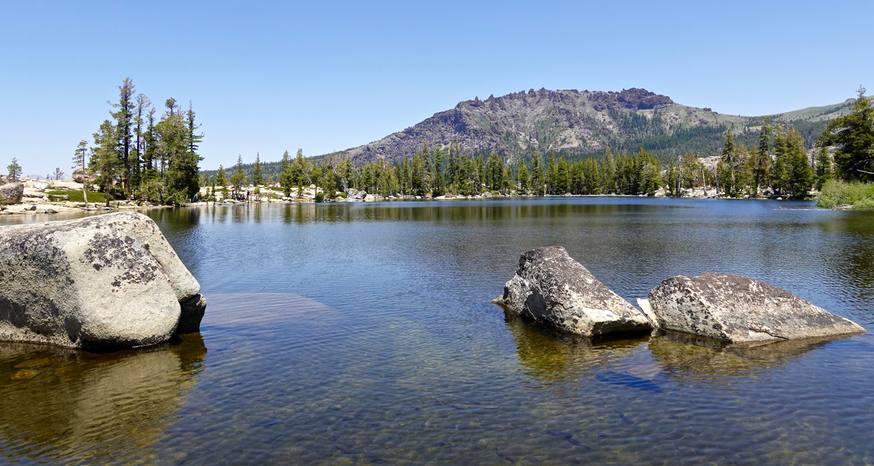 Granite, Hidden lakes in Carson Pass area a delight