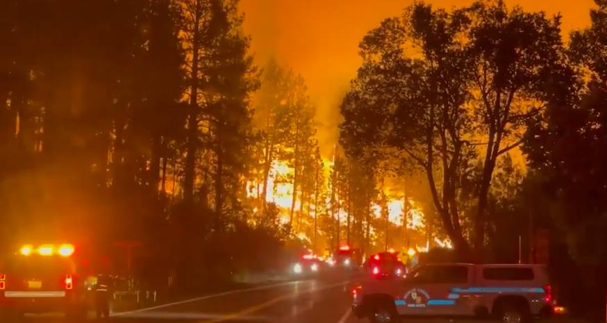 U.S. Forest Service blows it with fire burning near Tahoe