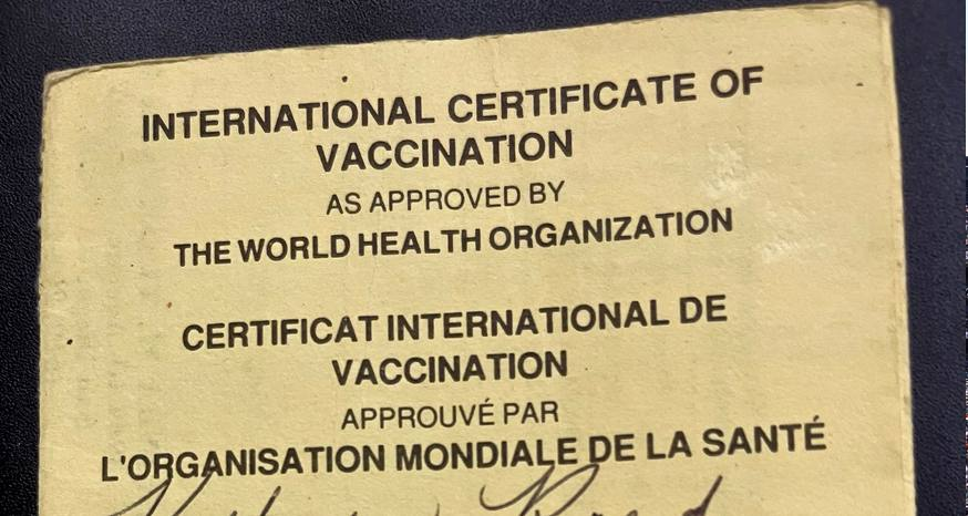 Vaccine cards have been around long before COVID-19 surfaced